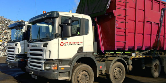 Fully licensed scrap dealers based in Hasland, Chesterfield, Derbyshire